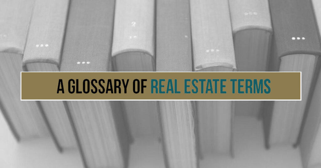 8 Real Estate Industry Terms