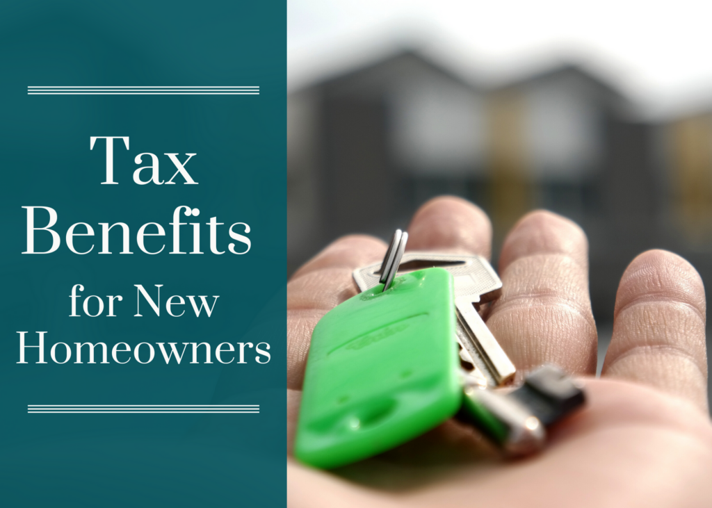 Tax Benefits for New Homeowners